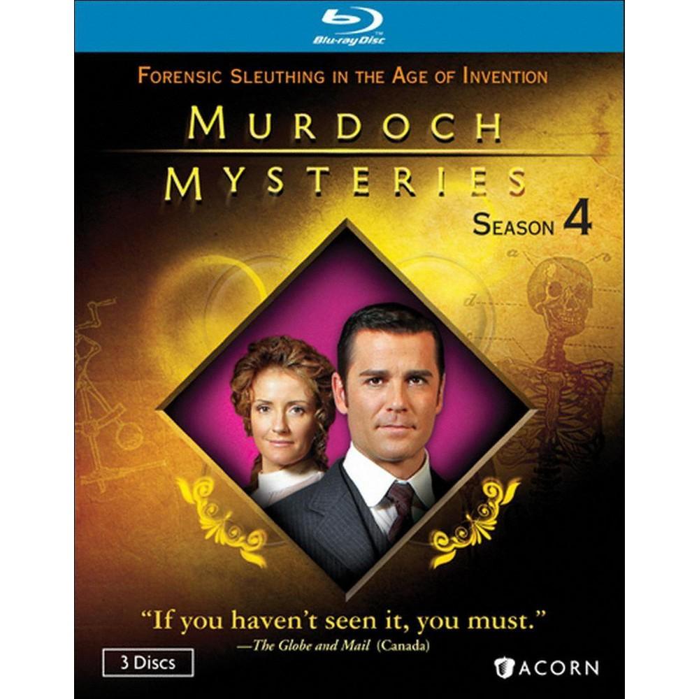 Murdoch mysteries season 4 3 discs bluray murdoch