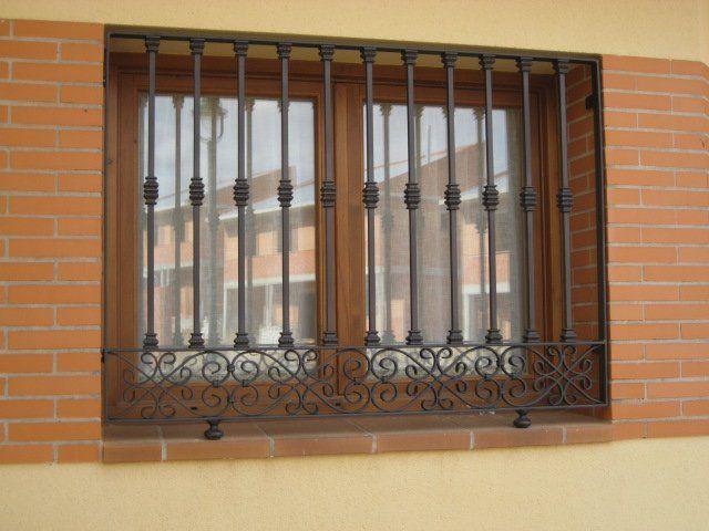 Resultado de imagen para rejas metalicas para ventanas - Rejas hierro forjado ...