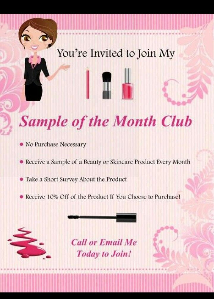 Try before you buy is what Mary Kay believes in. Join my sample of ...