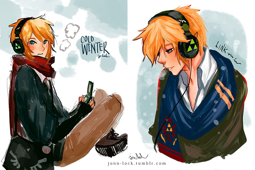 Modern Link is killing my soul :3 Link Doodles by Jon-Lock