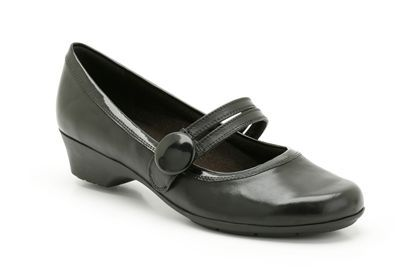 womens casual k shoes  ella jazz in black leather from