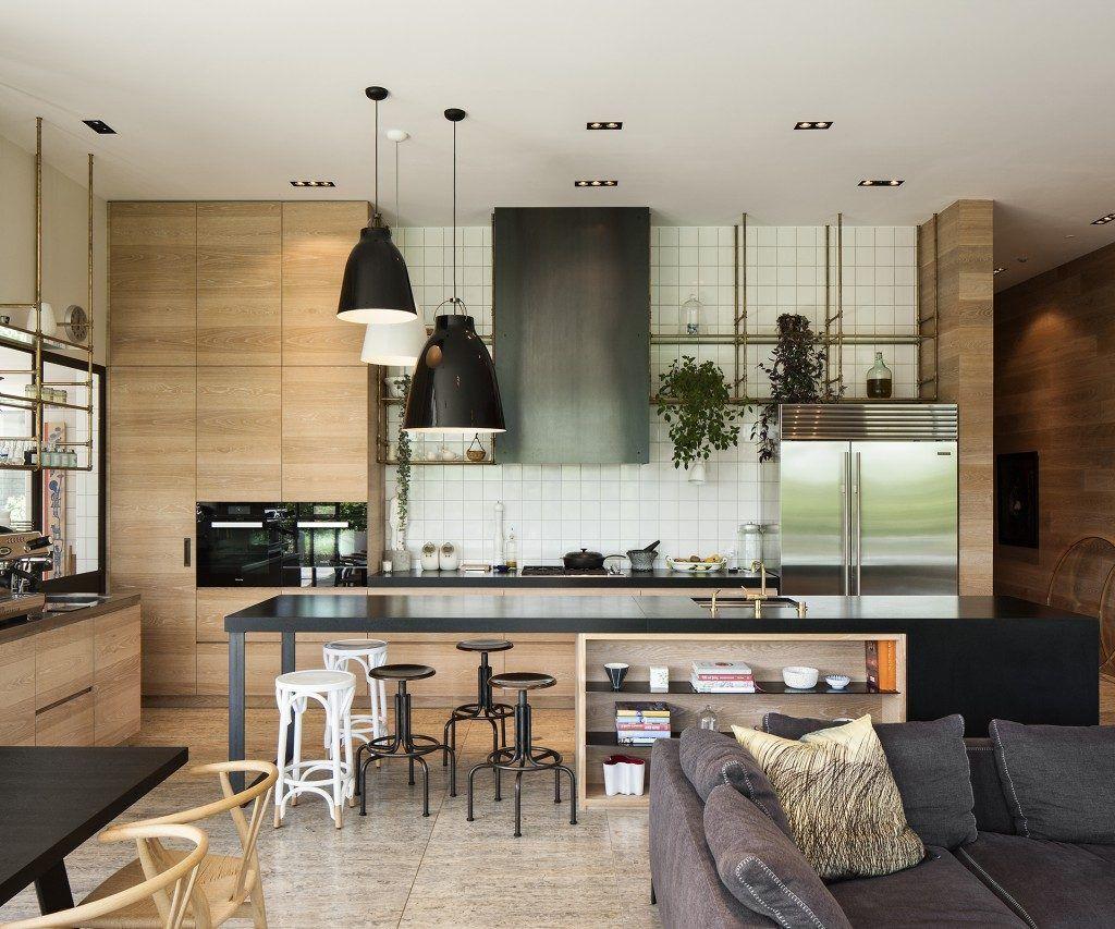 Een Moderne Makeover : Een keuken met een koffiebar sfeer muji keuken