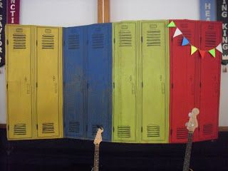Vacation bible school vbs ideas for sports theme lockers for Decorative lockers for kids rooms