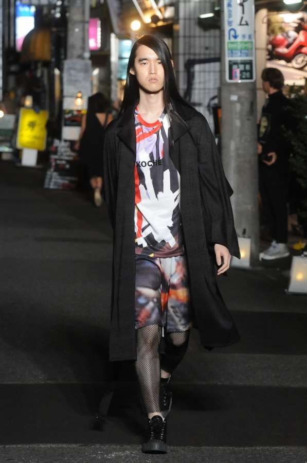 Male Fashion Trends: Koché Spring-Summer 2017 - Tokyo Fashion Week