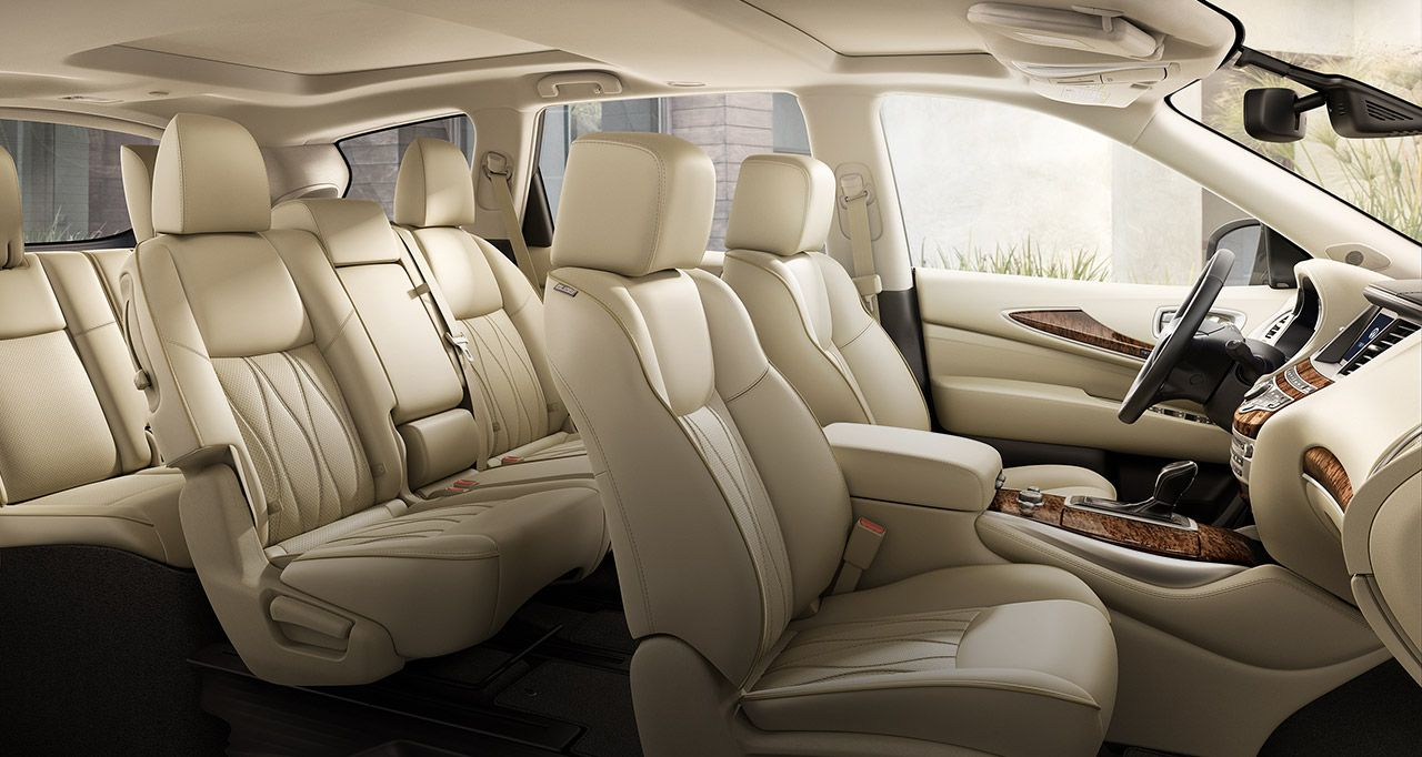 2016 Infiniti Qx60 Crossover Interior Seating For Seven