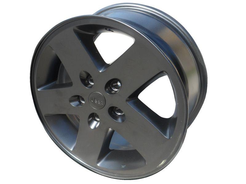 Omix-ADA 11233.07 Black Plastic License Plate Bracket for Jeep Wrangler