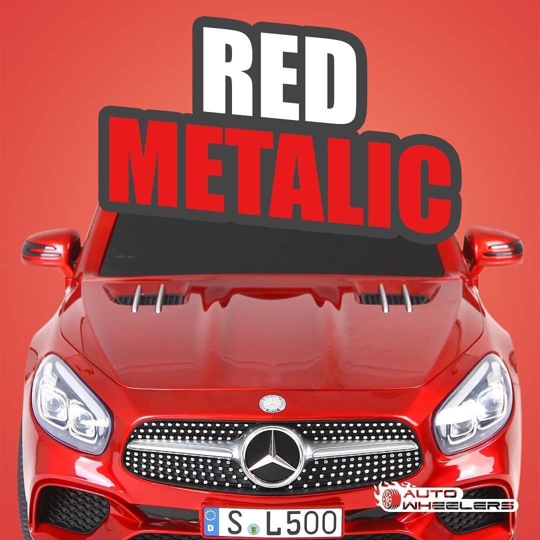 Baru Banget Mobil Mercedez Benz Sl 500 Memiliki Beberapa Pilihan Warna Dan Salah Satunya Warna Merah Yang Mengkilap Dan Super Kece Ini Mo Red Vehicles Baby
