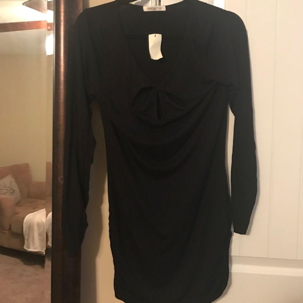 New longsleeved little black dress arden b products