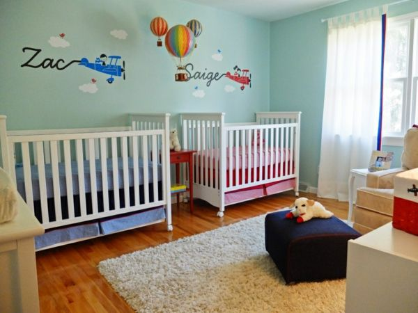Babyzimmer Mädchen und Junge - einige kombinierte Einrichtungsideen