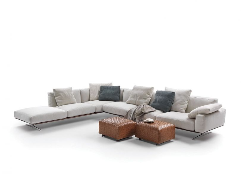 Soft Dream Large Leather Sofas Furniture Design Modern Large Sectional Sofa