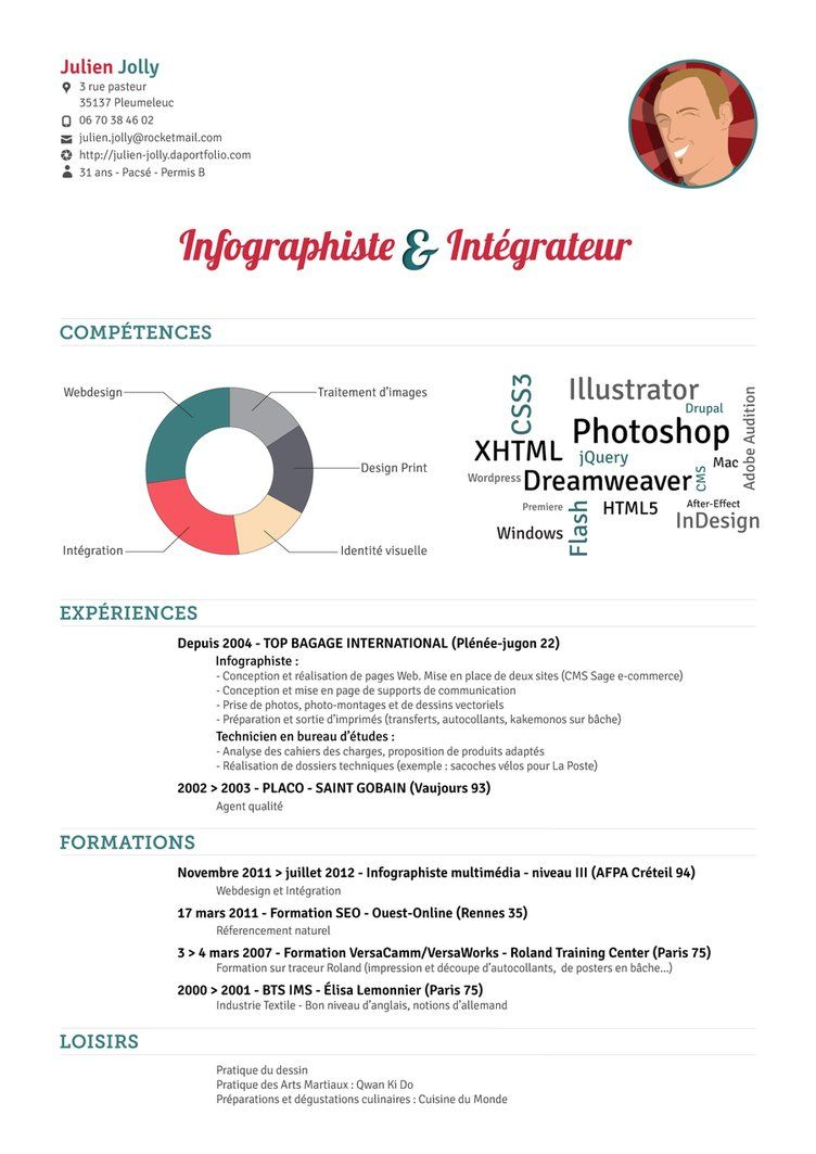My Resume By Julien Jolly On Deviantart Resume Design Free Resume Design Inspiration Resume Design Professional