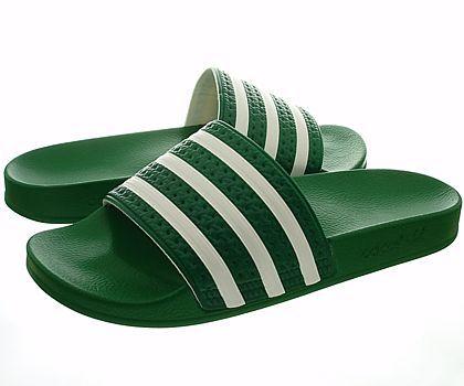 Adidas Adilette Grün Badelatschen | Feets | Adidas sandals ...