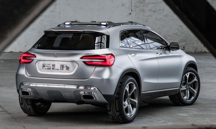 Mercedez Benz Gla Concept Car Suv Compact Vue Arrière