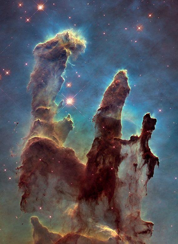 NASA publie de nouvelles photos de Piliers de la Création Pris par le télescope Hubble - L'Atlantique