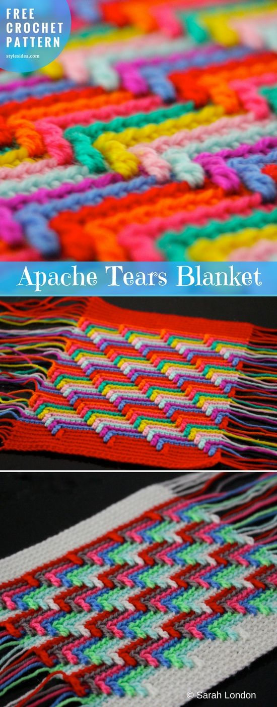Apache Tears [Free Crochet Pattern] | DIY | Craft Ideas | Pinterest ...