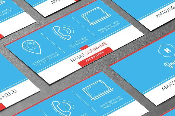 Pin by design monster on business card templates pinterest card creative business card template templates creative business card templatefeatures business card size with the bleeds by antartstock colourmoves