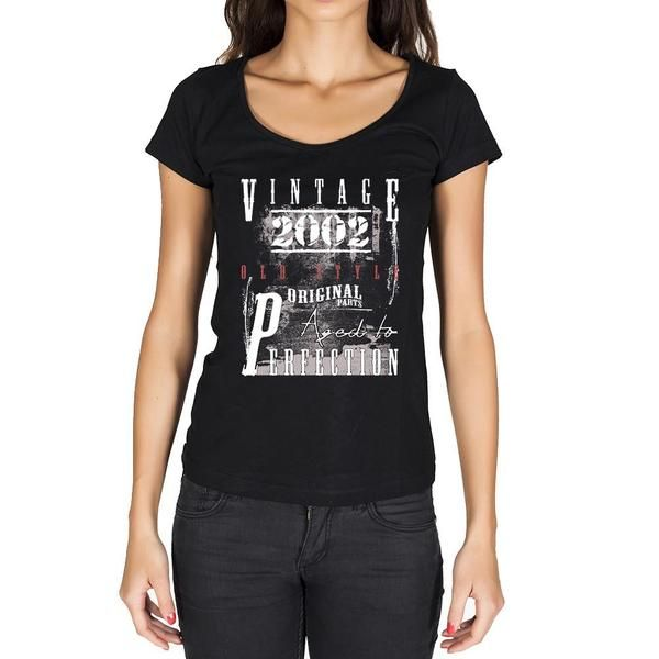 #birthday #gift #women #tshirt #vintage  This tshirt is the gift you actually want! Rock it on your birthday! --> https://www.teeshirtee.com/collections/vintage-birthday-rock-style-1/products/2002-14-birthday-womens-short-sleeve-rounded-neck-t-shirt