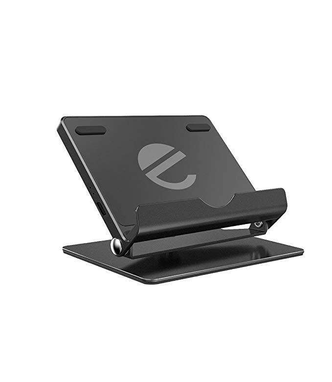 Fast Wireless Charger Stand Eeco Foldable Wireless Charging Stand With 360 Degree Rotatable Charging Pad For Iphone X Iphone 8 8 Plus Galaxy S8 S8 Plus S7 S7 Wireless Charger Galaxy S8 Charger Stand