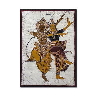 Batik Kandyan Dancers Graphic Design Inspiration Artwork Batik