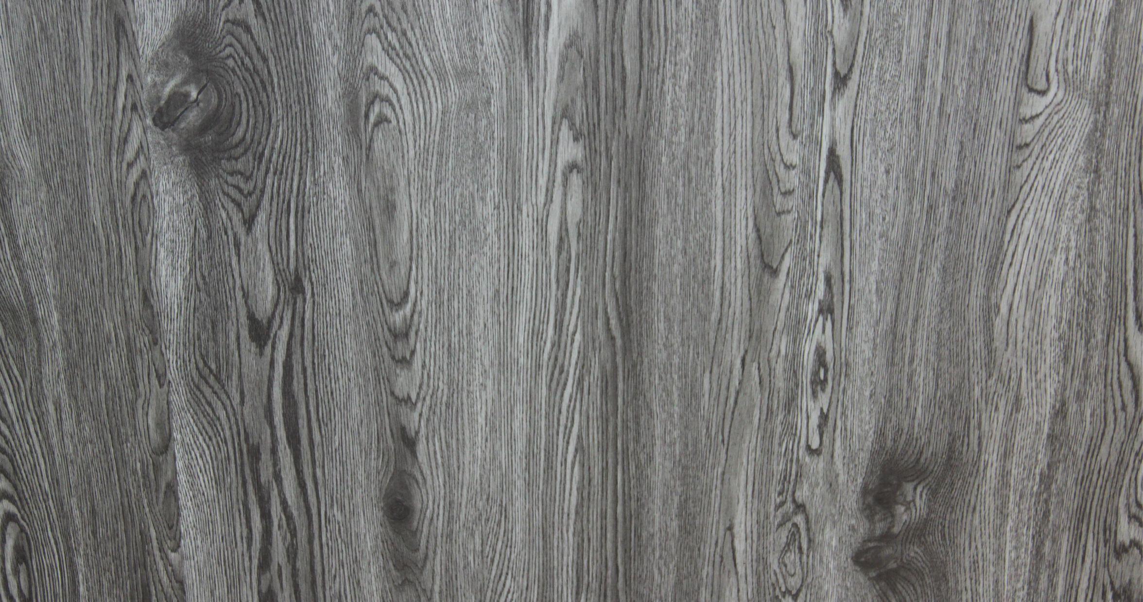 Grey Wood Vinyl Flooring Grain
