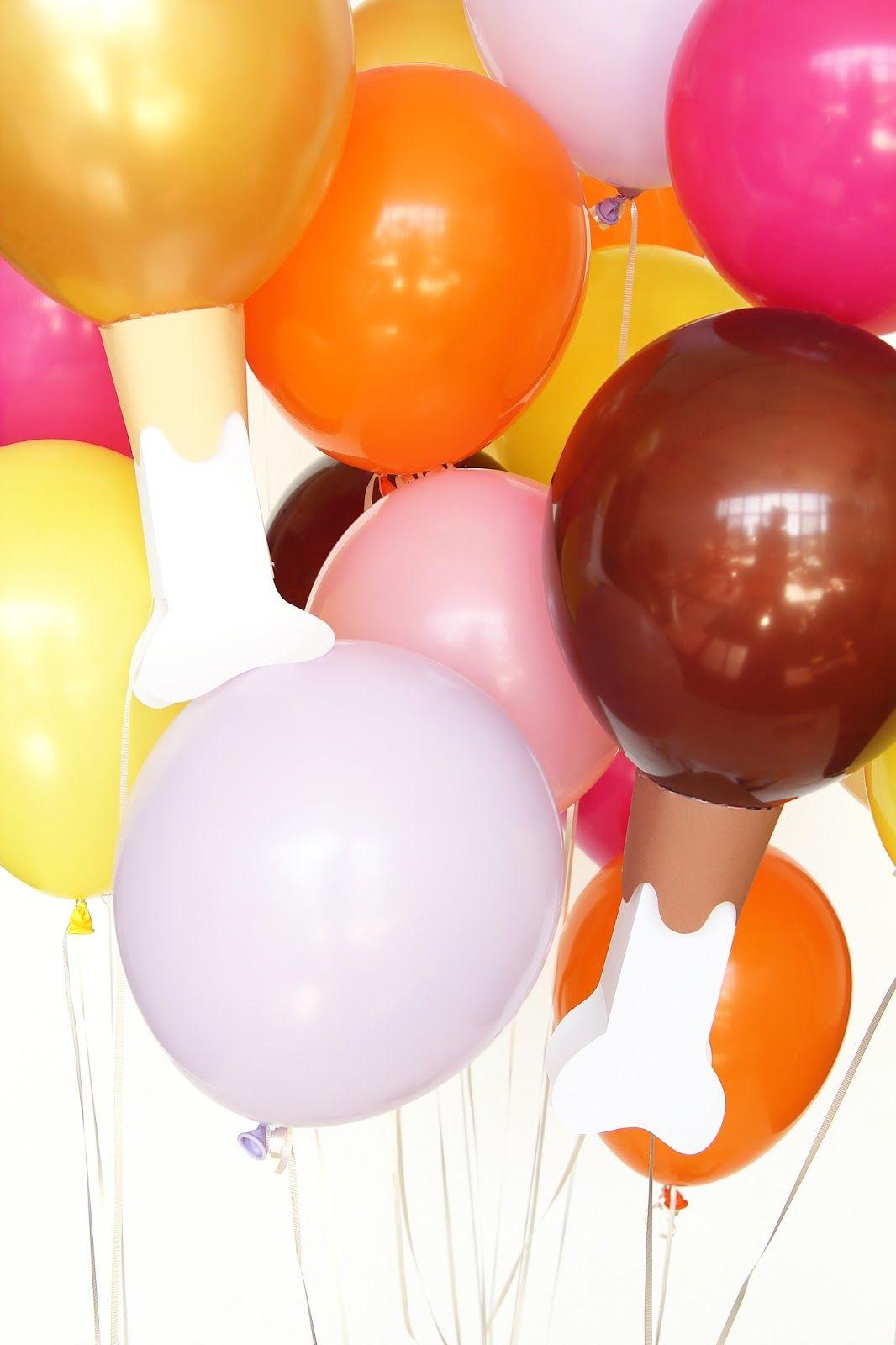 Aww Sam Diy Emoji Turkey Leg Balloons For Thanksgiving Party