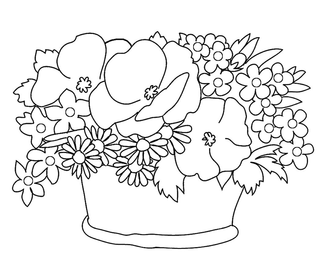Coloring Rocks Flower Drawing Tumblr Flower Flower Painting