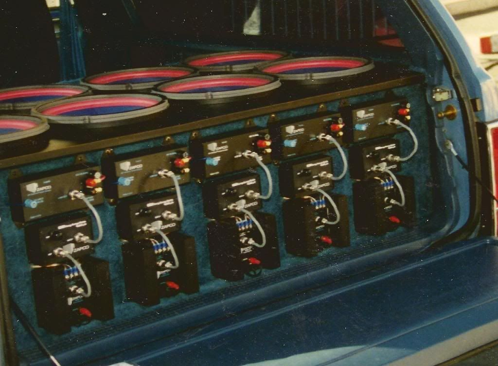 Old School Car Audio Installs - Pictures from 1990's ...  Old School Car Audio Installs