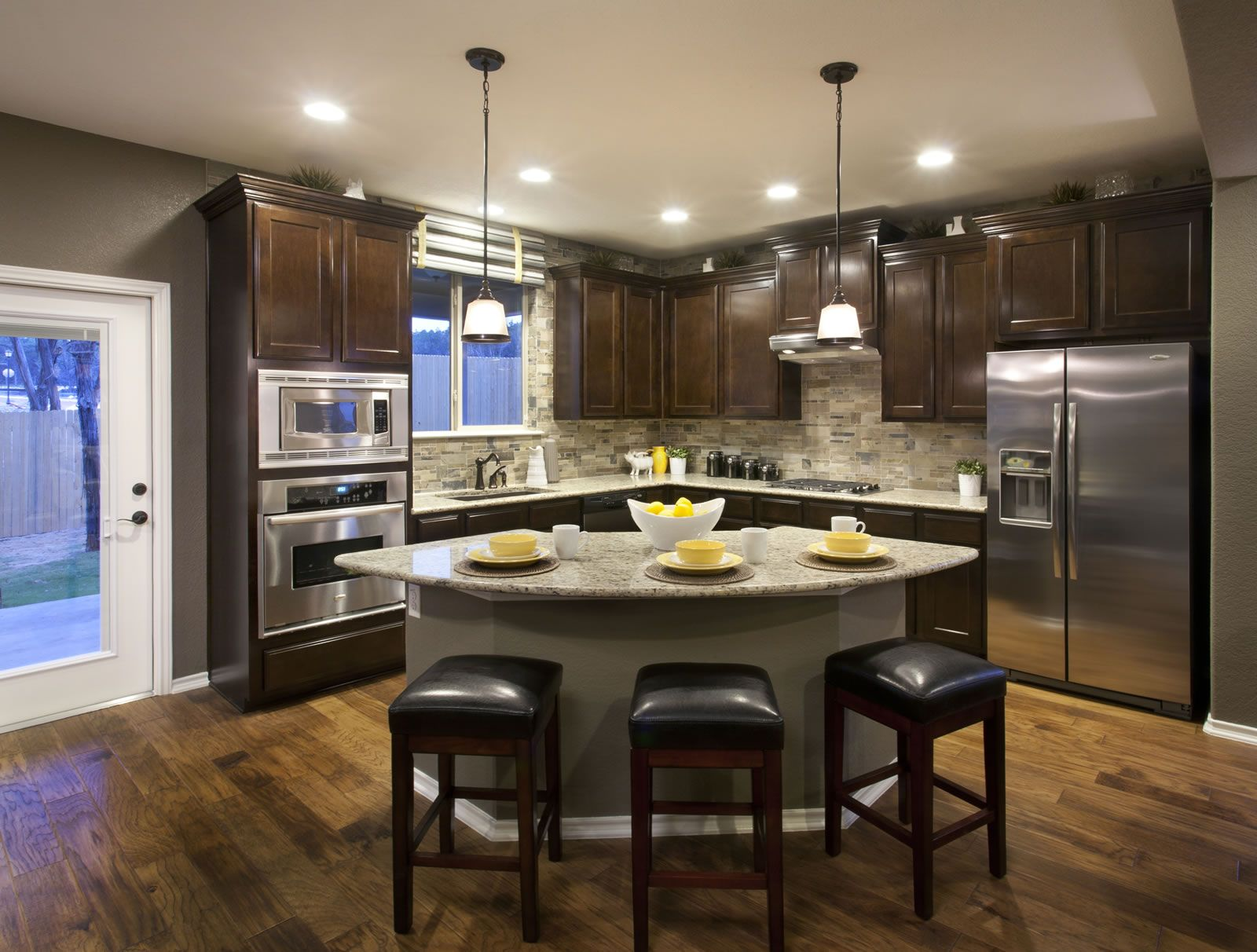 Kitchen (With images) | Home decor kitchen, Model home ... on Model Kitchen Ideas  id=56838