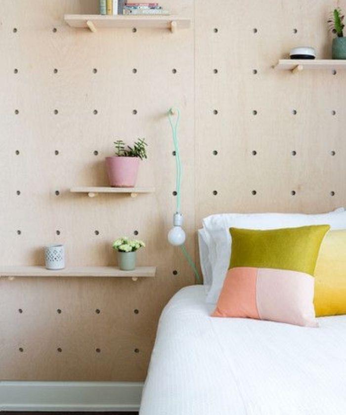1001 projets et id es g niales de t te de lit faire. Black Bedroom Furniture Sets. Home Design Ideas