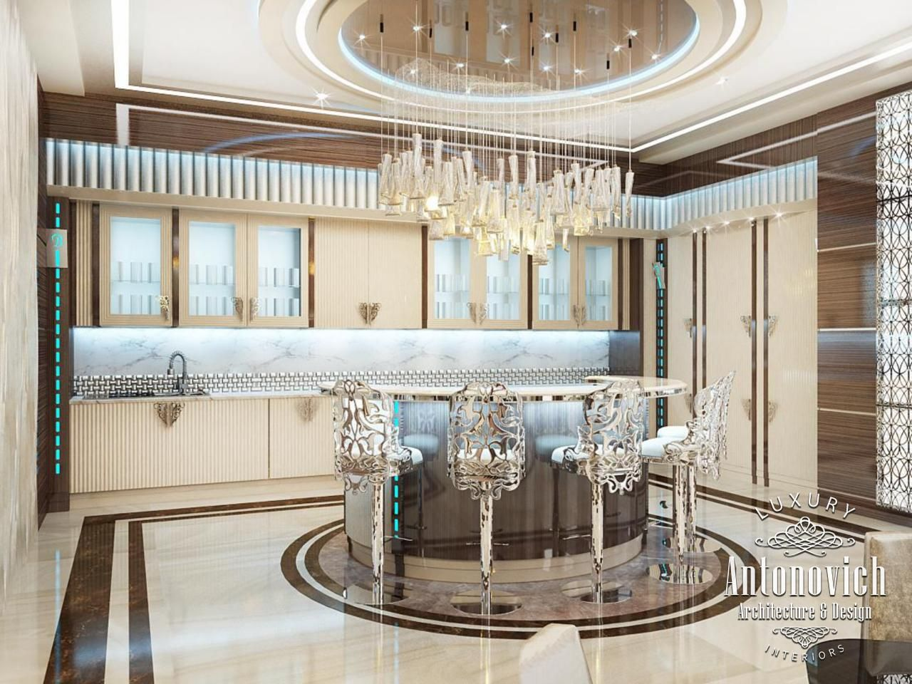 Kitchen Design in Dubai, Kitchen Interior in a Modern Style, Photo 1 ...