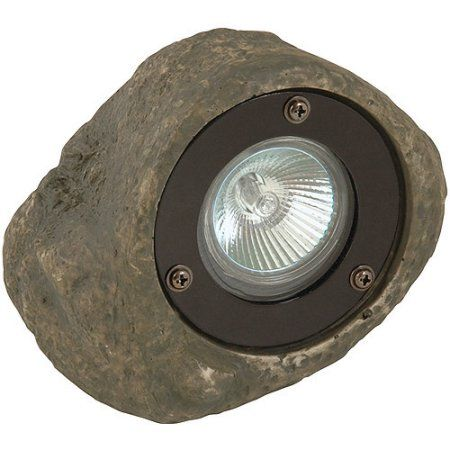 Moonrays 95828 Low Voltage 20 Watt 12 Volt Rock Spotlight Multicolor Products Landscape Lighting Path Lights Landscaping With Rocks
