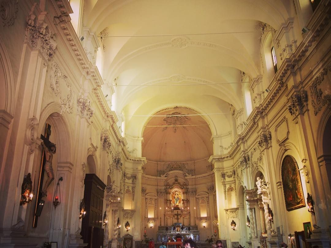 Noto Cathedral Interior #noto #sicily #italy #church #architecture #travel