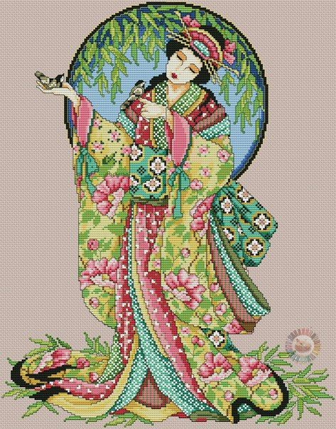 indian-asian-oriental-cross-stitch