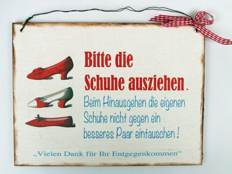 Schuhe Türschild von Un-Art-Tick auf DaWanda.com