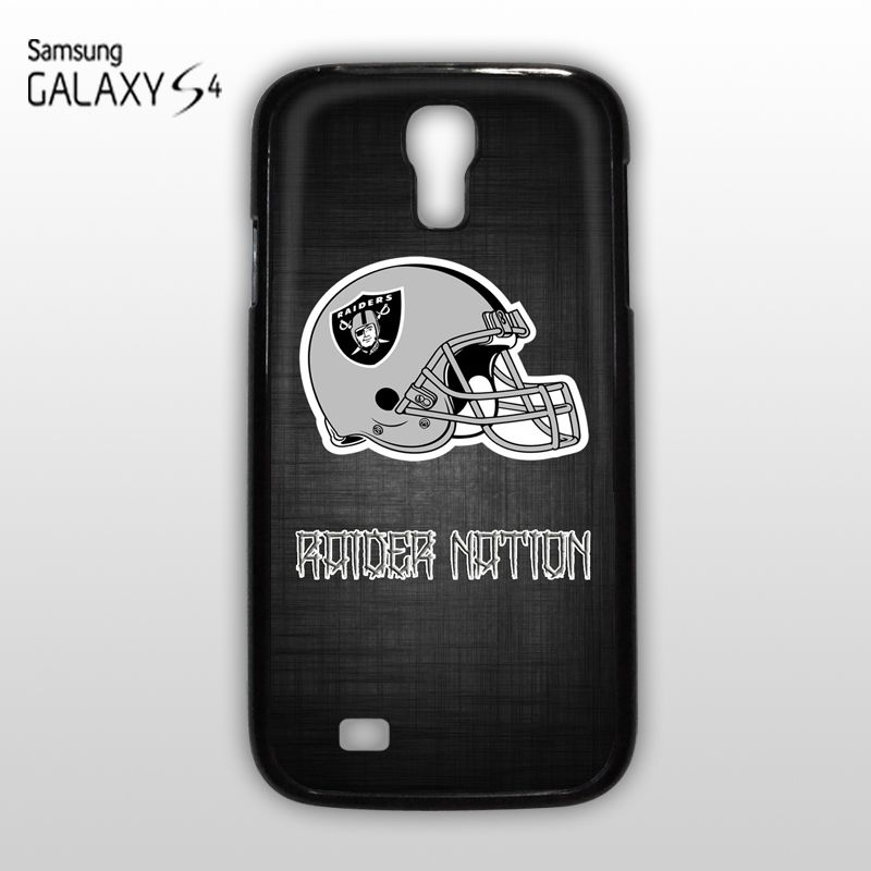 NEW NFL Raider Nation Oakland Raiders Football Samsung Galaxy S4 Case Cover GEEK
