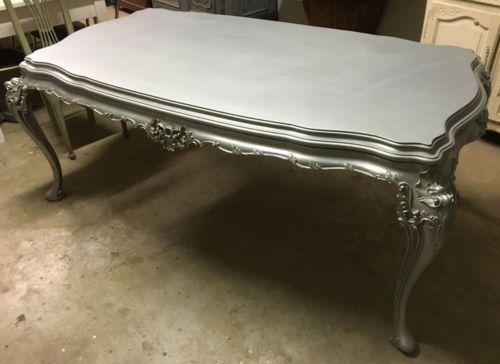 Tavolo chippendale ~ Tavolo chippendale tinta argento anni 039 40 puo essere tuo a 700