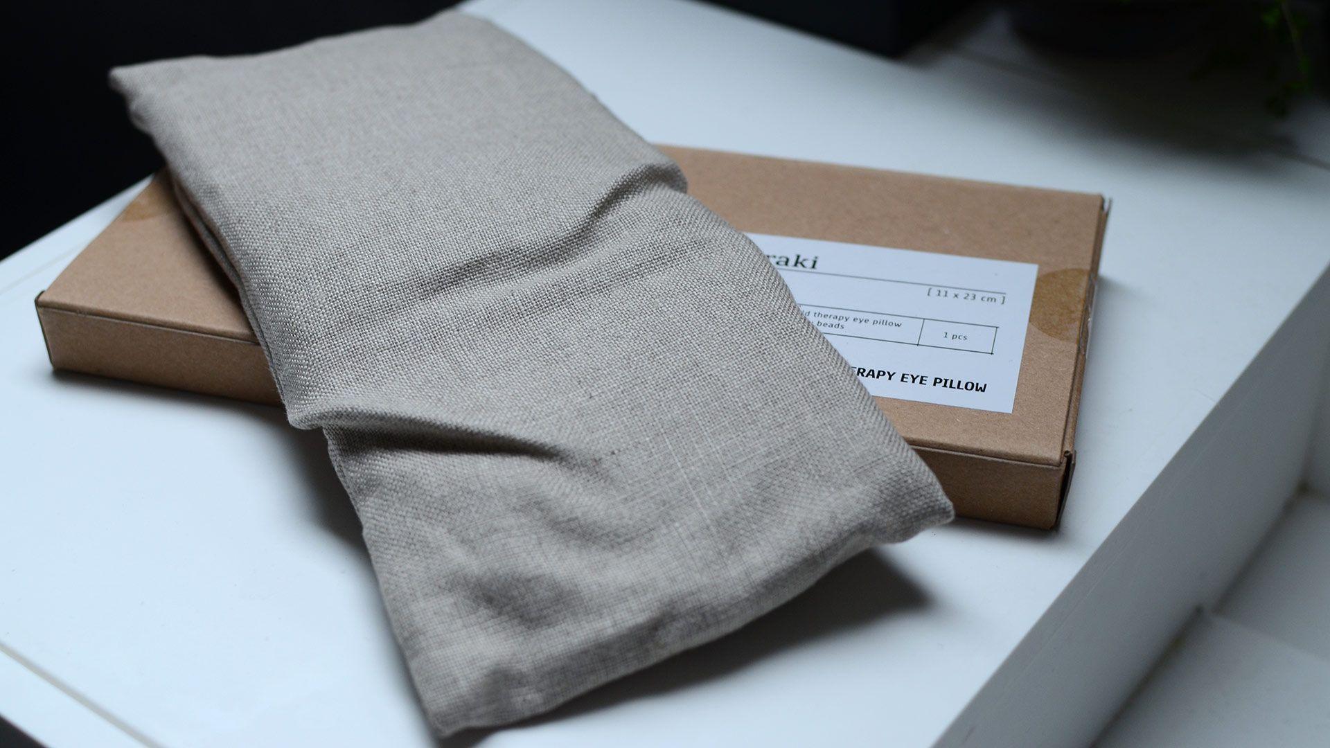 Best Relaxing Eye Pillow Organic Linen Bed Company Pillows 400 x 300