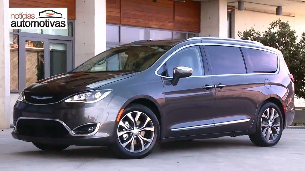 Chrysler Pacifica 2017 Noticiasautomotivas Com Br Coches Y Ruedas