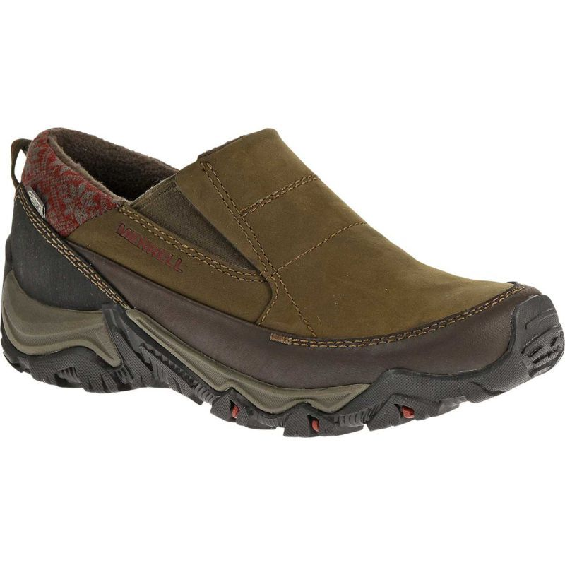 9f03eaaaf2 Merrell Women's Polarand Rove Moc Waterproof Slip-On Casual Shoes ...