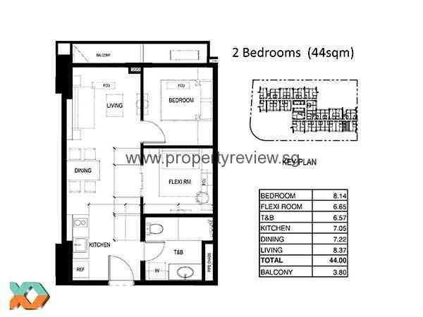 100 west makati philippines singapore property review for Apartment floor plan philippines