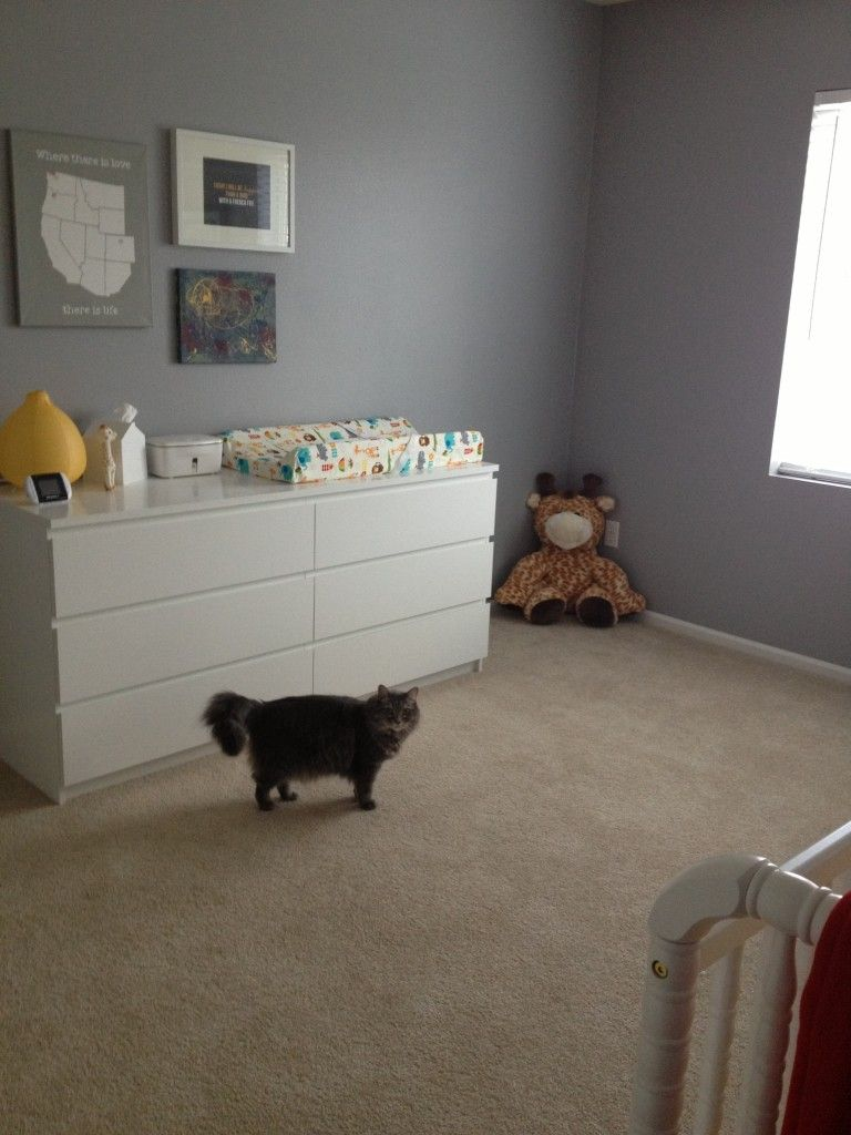 Oscar\u0027s Gray and Colorful Nursery | Project nursery, Nursery and ...