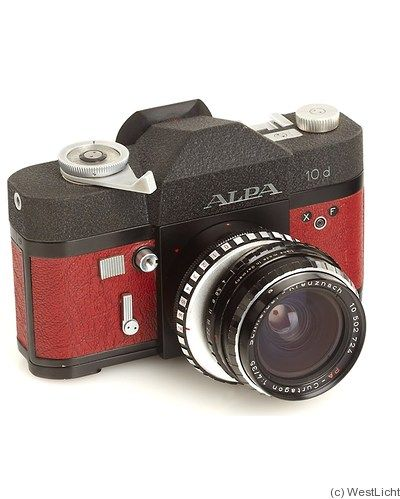 Pignons: Alpa 10d (red) camera | Rare Film Cameras | Camera