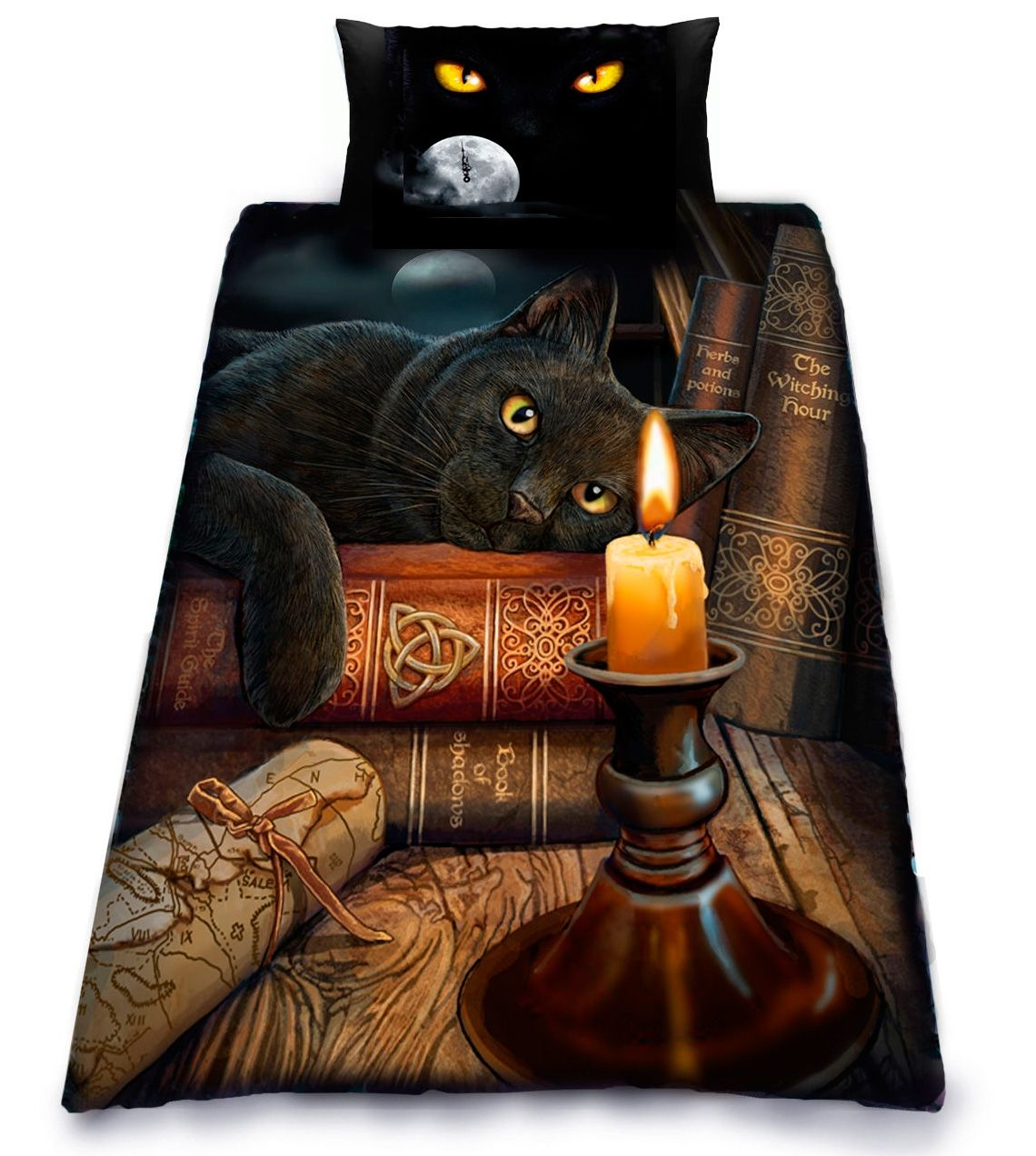 Funda Nórdica #Gato the Witching Hour #lisaparker #cats #gothic ...