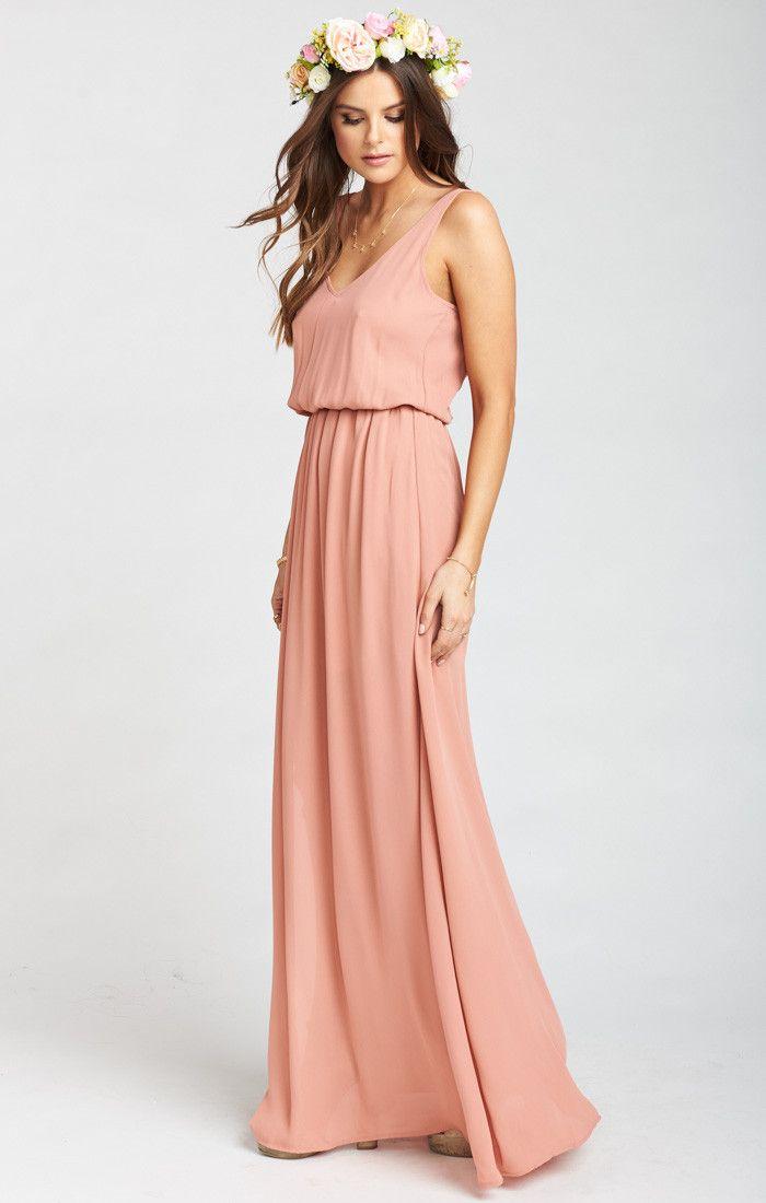 2efba8252974 Kendall Maxi Dress Rustic Mauve Crisp | :: JUST LANDED ...