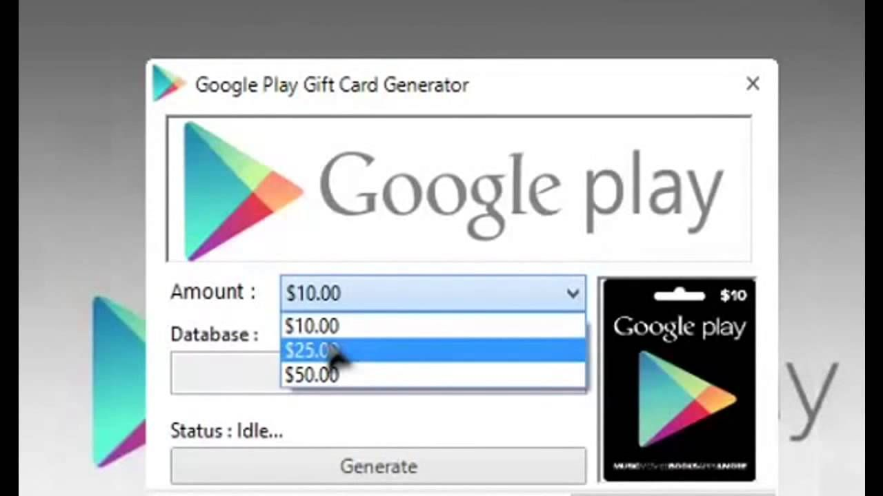 Download Link http://bit.ly/1sFZaVS Google Play Gift Card Generator ...