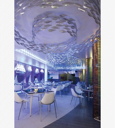 Four Ways To Better Interior Design Installations: Shoal - Stainless Steel,Konoba