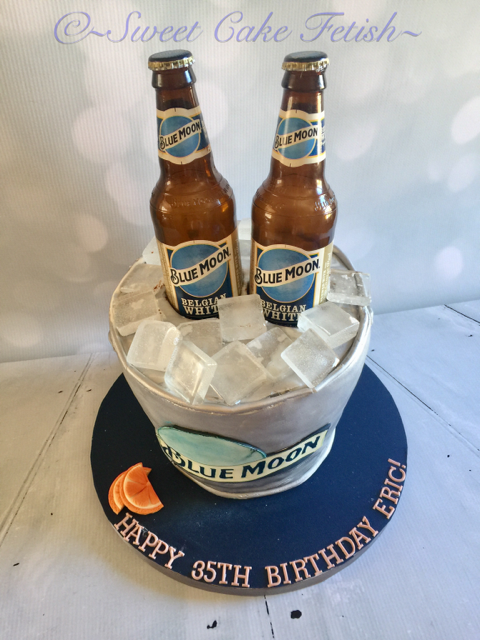 Our Favorite Cake Of This Week Is The Blue Moon Themed Cake This