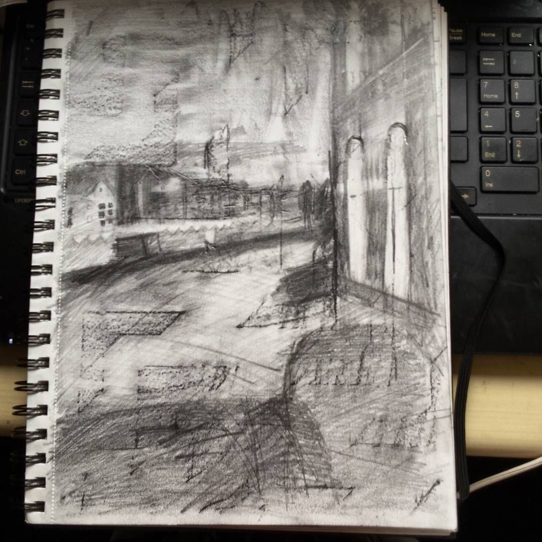 Csketch Of Amsterdam Pencil Katy L Day May 16