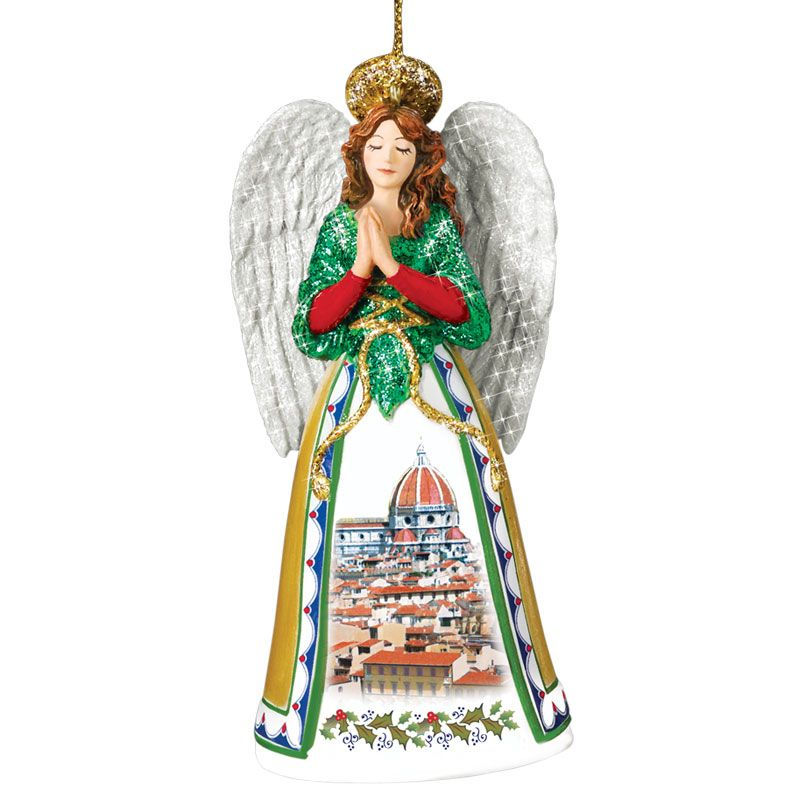 Buon Natale Ornament.Italian Christmas Ornaments Danbury Mint Annual Italian Christmas