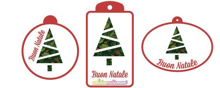 3 Chiudipacco Di Natale Da Stampare Con Alberino Ziemassvētki 5